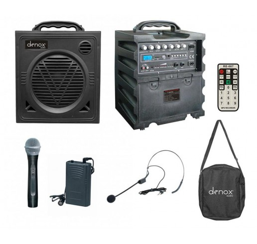 DENOX DN-P1125 Portatif Ses Sistemi 125 Watt