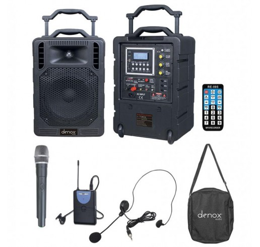 DENOX DN-P1150 Portatif Ses Sistemi 150 Watt