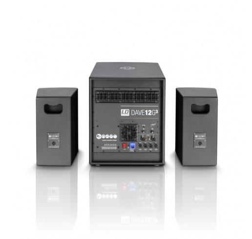 LD SYSTEMS DAVE 12 G3 Kompakt Aktif Pa Sistem
