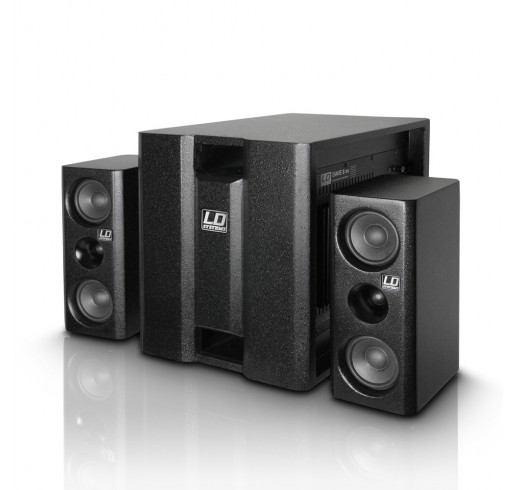 LD SYSTEMS DAVE 8 XS Kompakt Aktif Pa Sistem